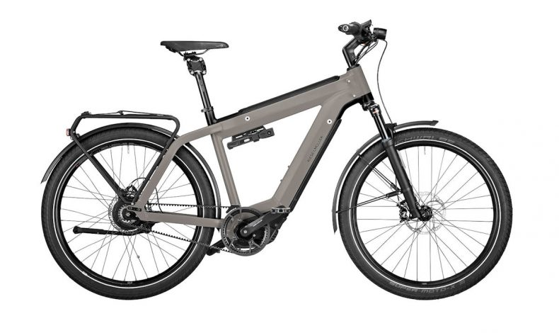 Velo Electrique Vae Riese Muller Super Charger2 Gt Vario Gris